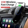 Black wireless car charger