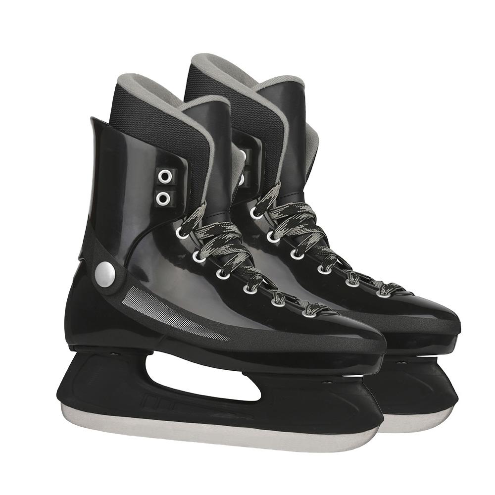 Заводская цена, OEM волоконные промежуточные жесткие чехлы, скоростной Хоккей, обувь для катания на коньках, коньки для мальчиков