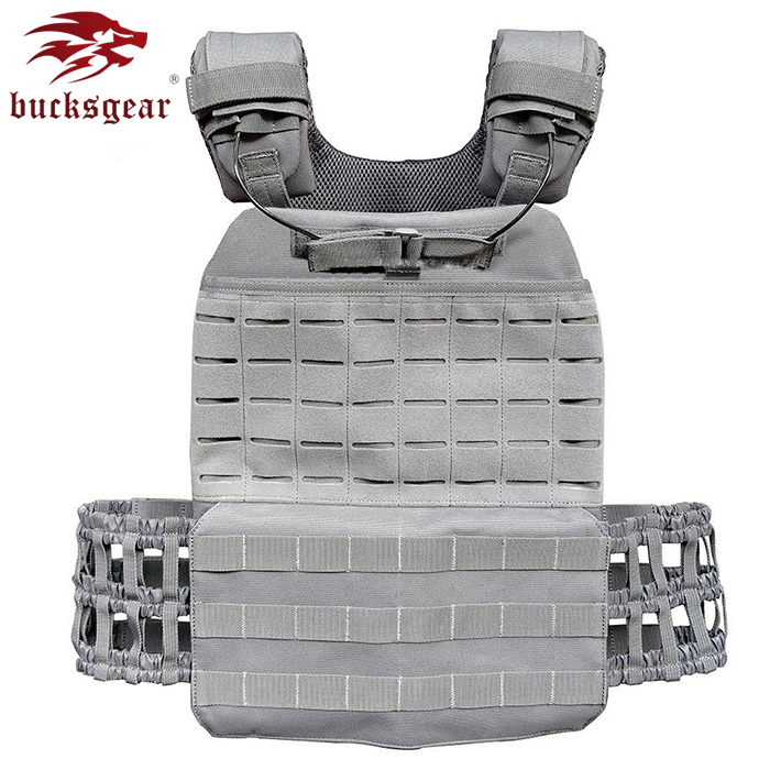 High Protection Military Combat Vest Body Armour MOLLE Light Weight Adjustable Quick Release For Tactical Battlefield War Game
