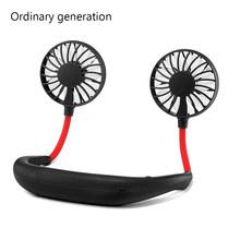 Мини-вентилятор, спортивный портативный вентилятор для шеи, USB Перезаряжаемый, Персональный вентилятор охлаждения, портативный кондиционе...(Китай)