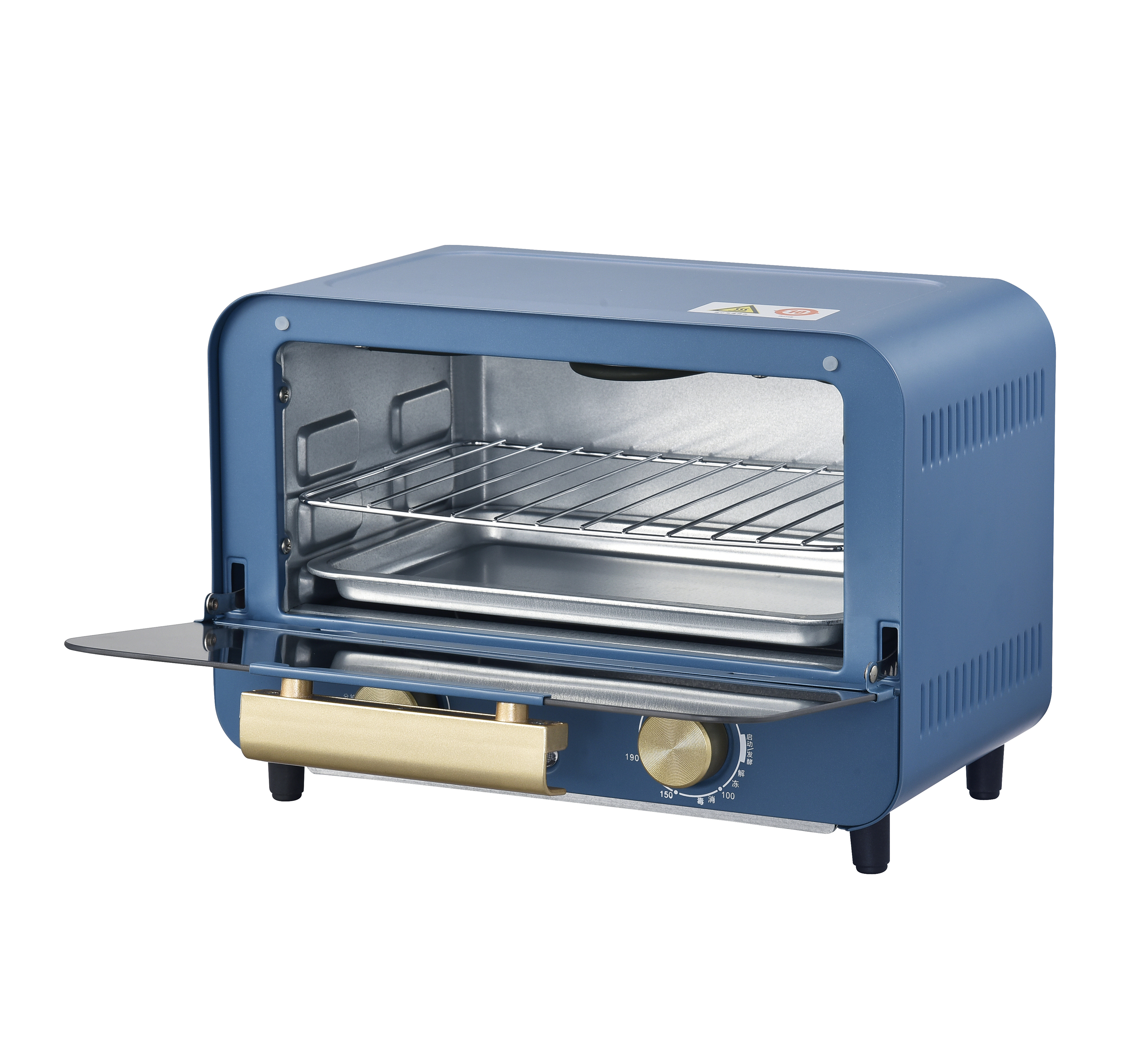 12L colorful bread pizza oven electric oven