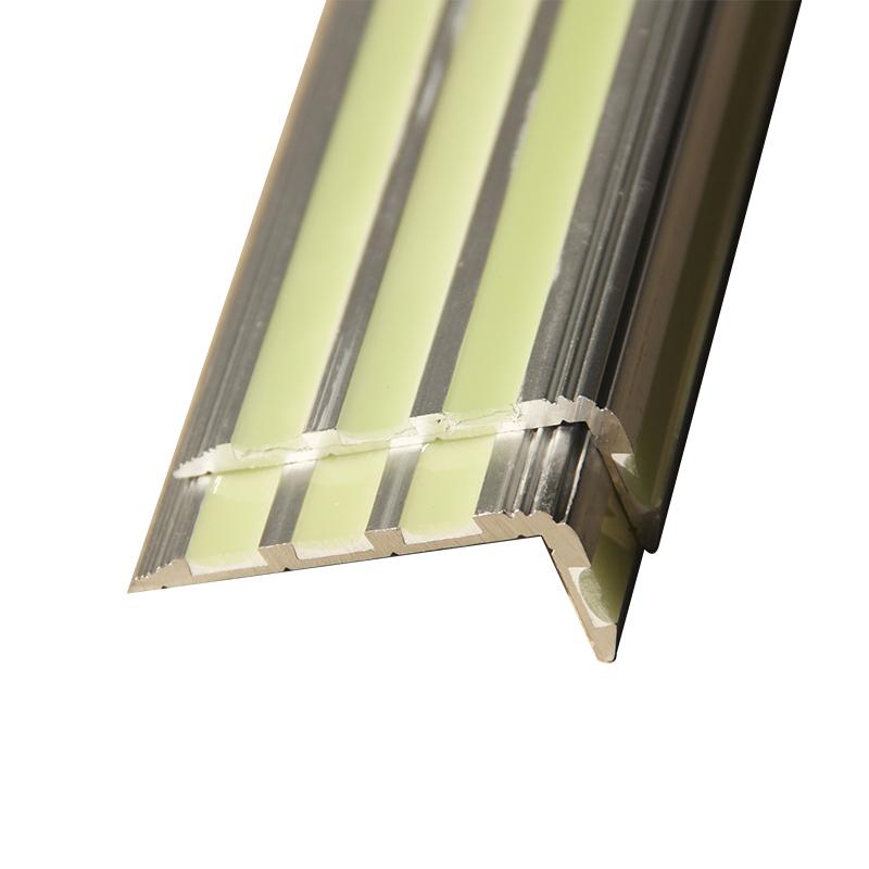 Анти-скольжения Фотолюминесцентные настила с алюминиевым материалом