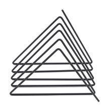 Треугольная полка для хранения файлов книжная подставка настольная Скандинавская кованая железная офисный стол хранение книжный Органайз...(Китай)