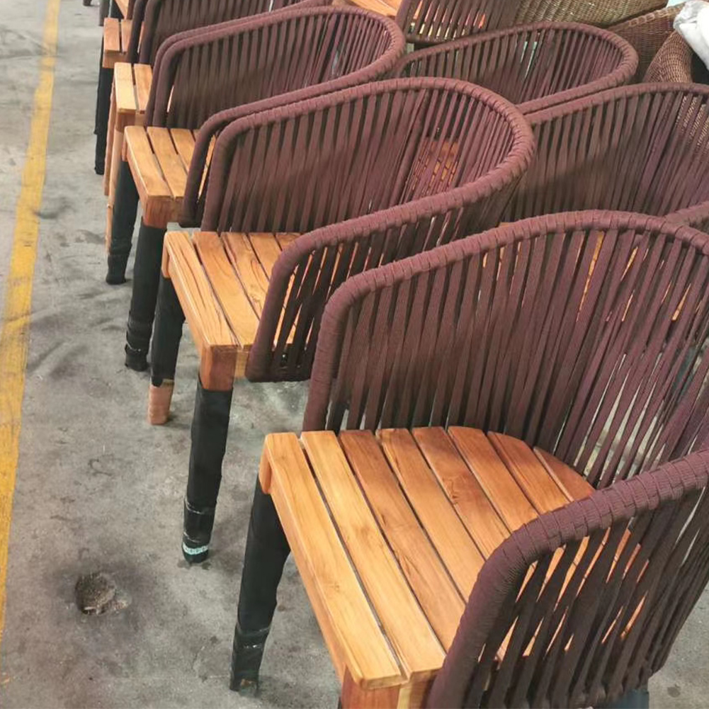 Furniture high quality rattan products outdoor gray  chairs set  outdoor garden chairs