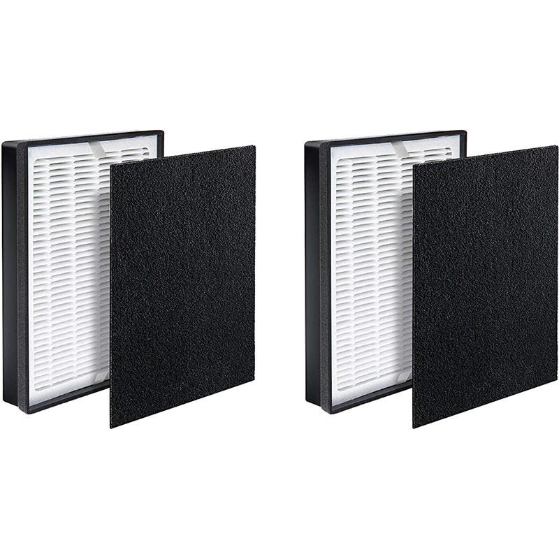 Amazon hot sale Air Purifier Replacement Filter Set For Levoit LV-H126-RF Air Purifier True HEPA & Activated Carbon Pre-Filters