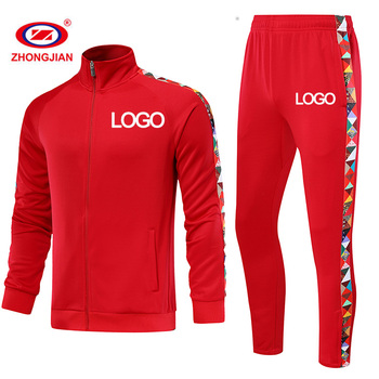 Wholesale Running Wear Polyester Track Suit Custom Training & Jogging Wear Sweat Suit For Men