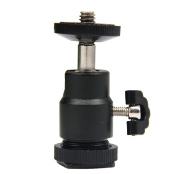 Camera Photo Accessories Tripod Ball Head Mount With 1/4 Screw Suitable for Monocular Binoculars