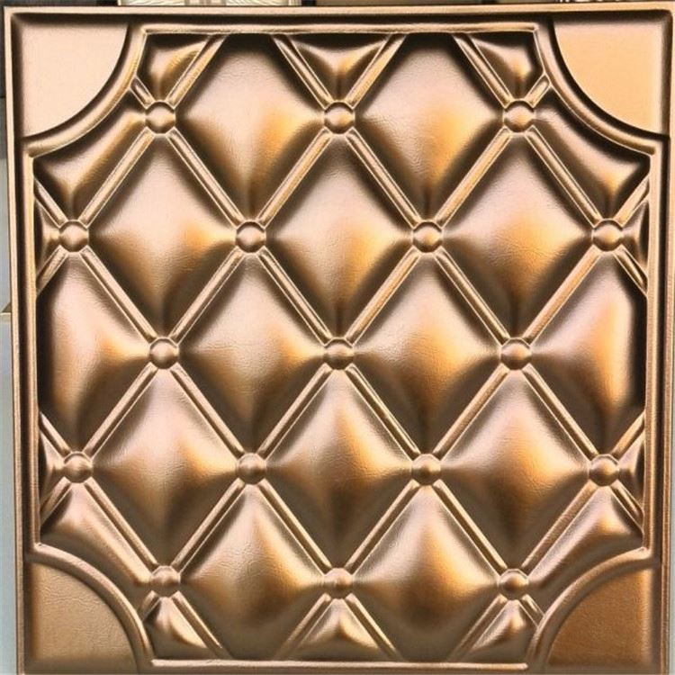 first class high profit square shiny mirror glass insulation polyurethane fire resistant decorative wall panel