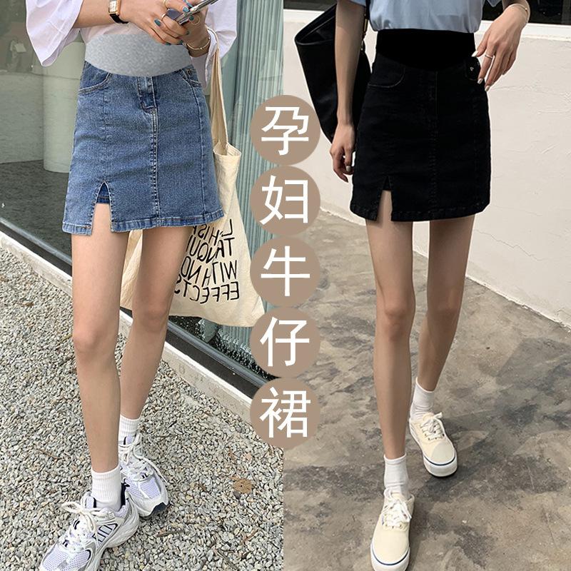 Роскошные 2223HC женские эластичные джинсовые шорты А-силуэта