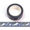 Silver Holographic Foil CMYK Songshan Snow Forest Washi Tape