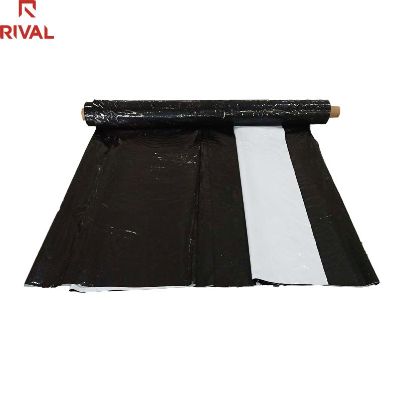 200 микрон 10 м ширина сельского хозяйства LDPE Черный Белый пластик панда пленка