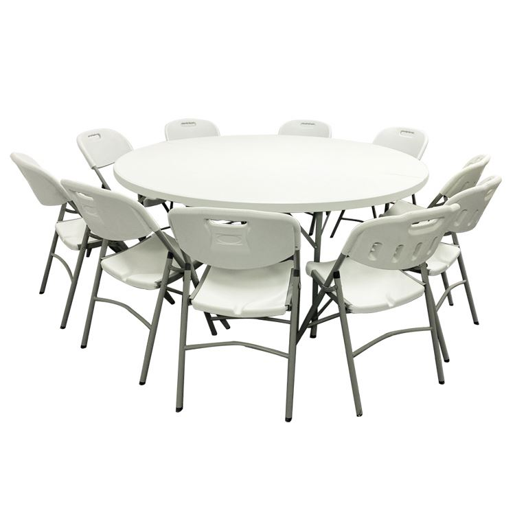 6 Ft Folding Plastic And Chair 60 Round 6ft 7ft 8 Foot 8 Foot 8ft Acrylic Dining 10 Seater Outdoor Tables Buy 10 Seater Outdoor Tables 6ft Folding Table 8ft Round Table Product On Alibaba Com