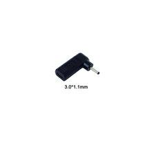 Разъем адаптера питания для ноутбука, штепсельная вилка постоянного тока, USB Type C, женский, Универсальный Мужской конвертер для Lenovo Hp Asus Dell, з...(Китай)