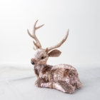 Rose Gold The Latest Hot Selling Factory Direct Selling Rose Gold Household Deer Ornaments Christmas Reindeer