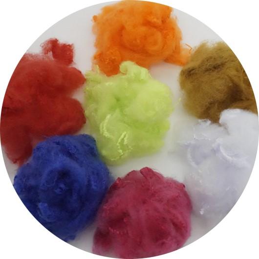 Dyed Flame retardant acrylic staple fiber for fabric