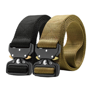 Custom Outdoor Nylon Military Combat Utility Belt Police Duty Tactical Belt With Quick Release Buckle