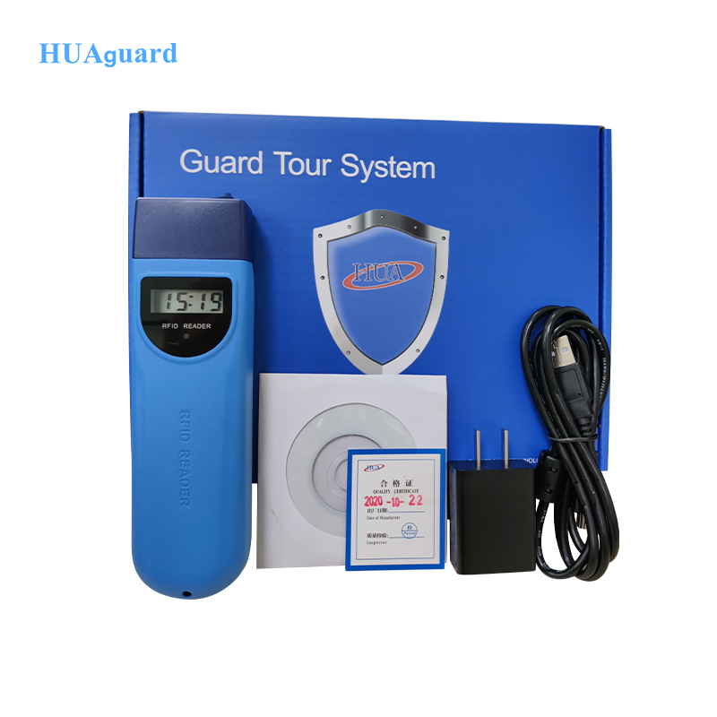 Best Quality Wireless Ibutton RFID Guard Patrol System Security Guard Tour with Free Software Download