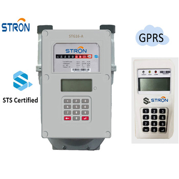 STS Standard 2G/3G GPRS Communication Prepaid Smart Natural Gas Meter