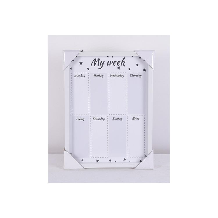 Weekly Plan Large Whiteboard Stickers Dry Erase Calendar Magic White Board - Yola WhiteBoard   szyola.net