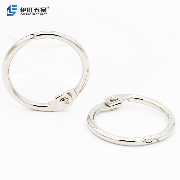 Book Hoop 20mm Binding Rings Binder Hoops Loose Leaf Ring Book Ring for File Paper Book