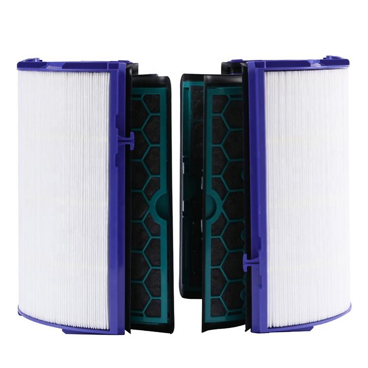 Высокоэффективный Hepa-фильтр с активированным углем композитным картриджем, воздушный фильтр для очистителя воздуха Dyson TP04/DP04/ HP04, Китай