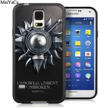 Чехлы для телефонов MaiYaCa Games of Throne Fire Blood для samsung Galaxy S5 S6 S7 edge S8 S9 S10 Plus Lite Note 9 5 8 полный Чехол(Китай)