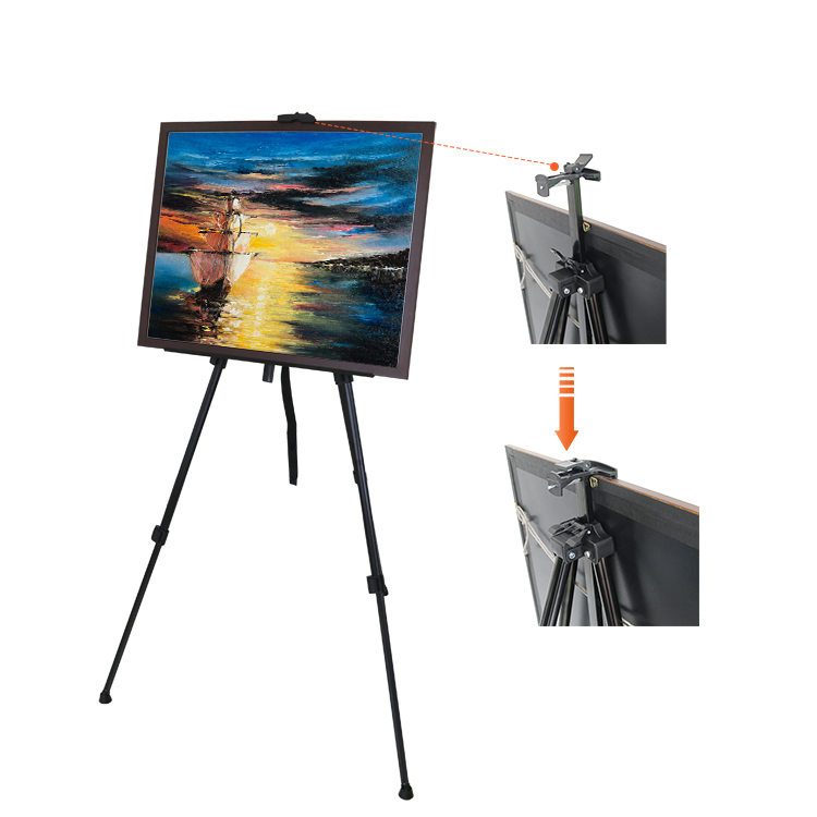 Tiny Artist Drawing Whiteboard Florist Picture Tripod Easel Stand