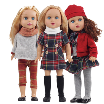 18 inch cheap child kids dolls for sale soft silicone vinyl Lifelike American baby doll for girls toys