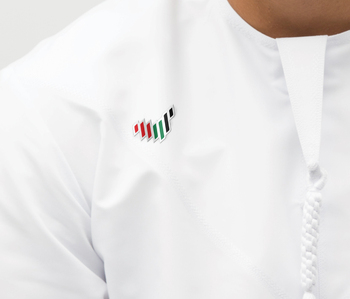High quality 7 lines uae map flag metal magnetic pin badge for UAE nation brand