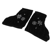 2 шт катание на коньках ботинки покрывают протектор для фигурного катания бархат(Китай)