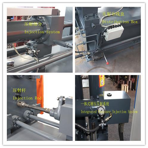 Aluminum alloy injection die casting machine
