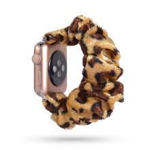 Новая модная эластичная резинка для часов Apple Watch 38 мм/40 мм 42 мм/44 мм серия 5 4 3 2 1 браслет напечатанная ткань(Китай)