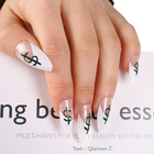 False Nail Hot Sale White French Style False Nail Us Dollar Artificial Fingernail With Custom