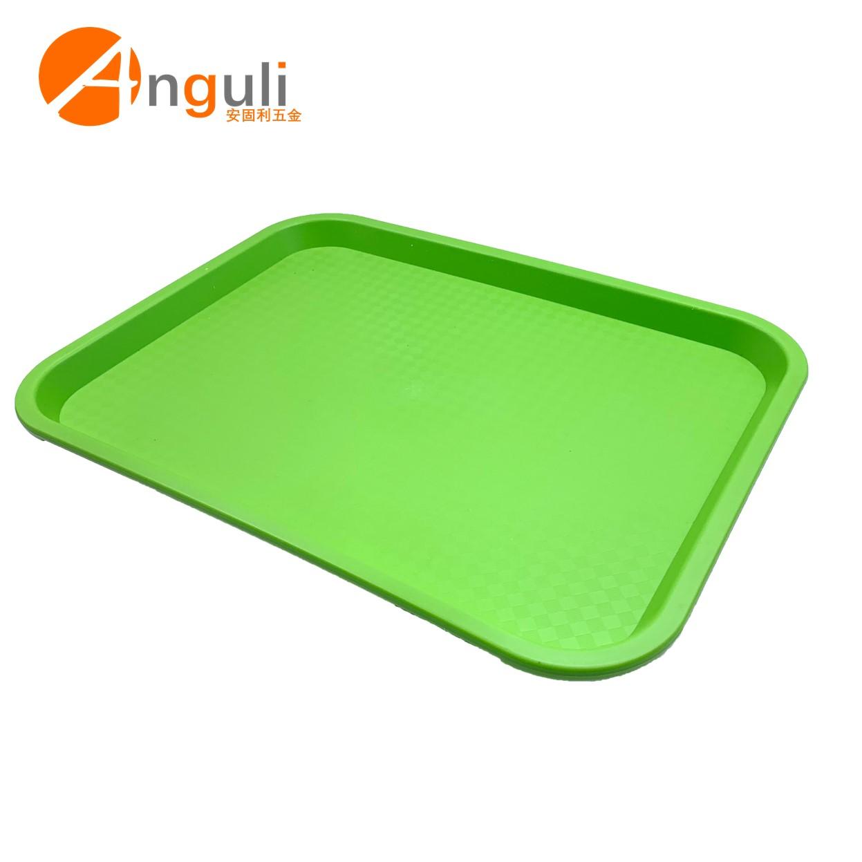 Высококачественный пластиковый поднос для фастфуда, прямоугольный пластиковый нескользящий поднос для ресторана, сервировочный поднос для фастфуда