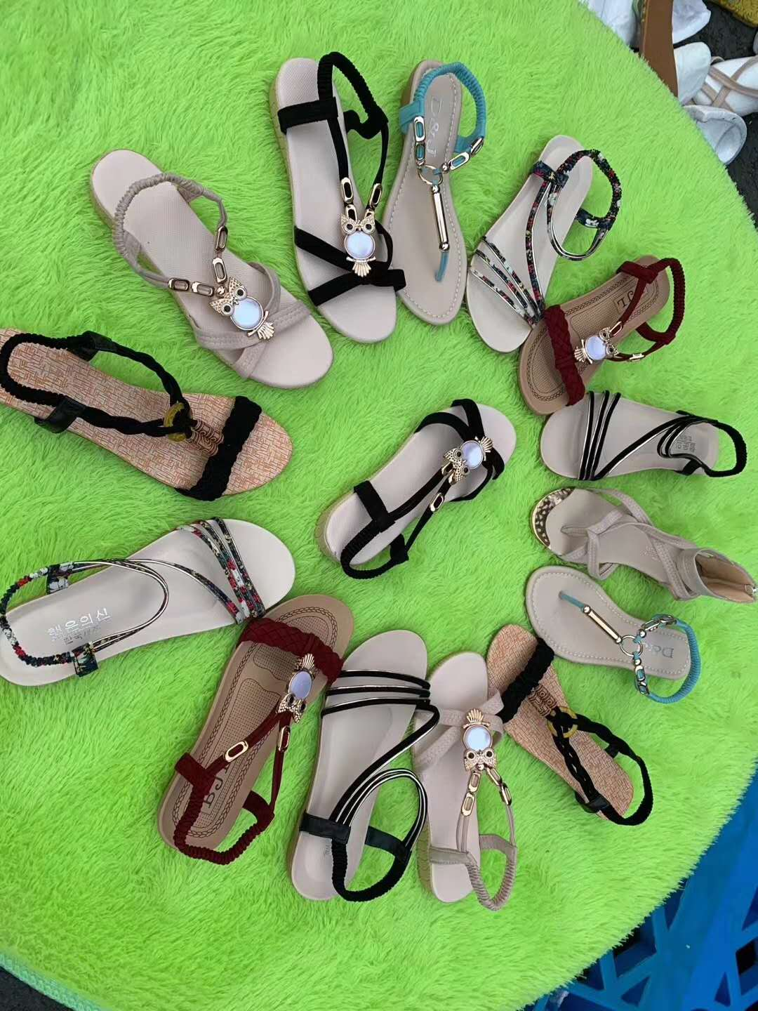 XY05241 summer hot-selling women sandals shoes Latest Design wholesale manufacture in china