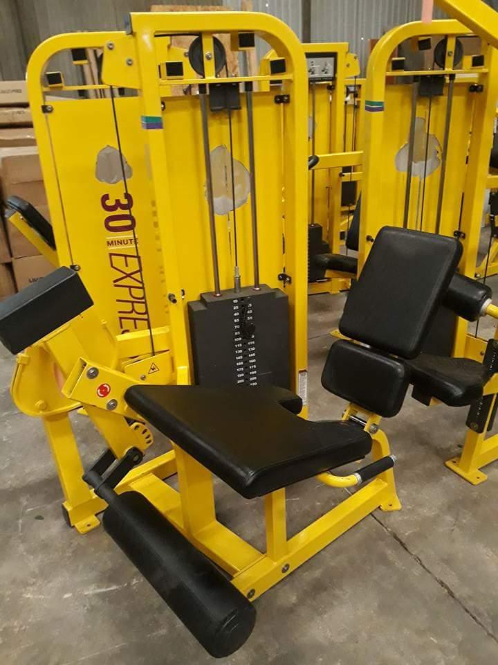 Seated Leg Extension Machine bodybuilding machine indoor gym equipment