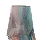 Printed scarf voile hijab with Competitive price newest design hijab popular pattern scarf for Muslim women