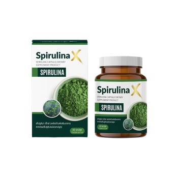 High Quality Supplement Spirulina X (Spirulina Capsule Dietary Supplement Product)