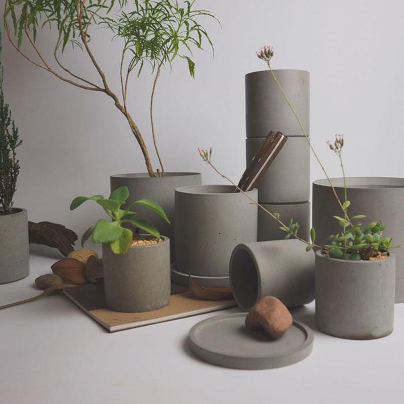 Купить форму для цветочных горшков из бетона пигмент в цементный раствор