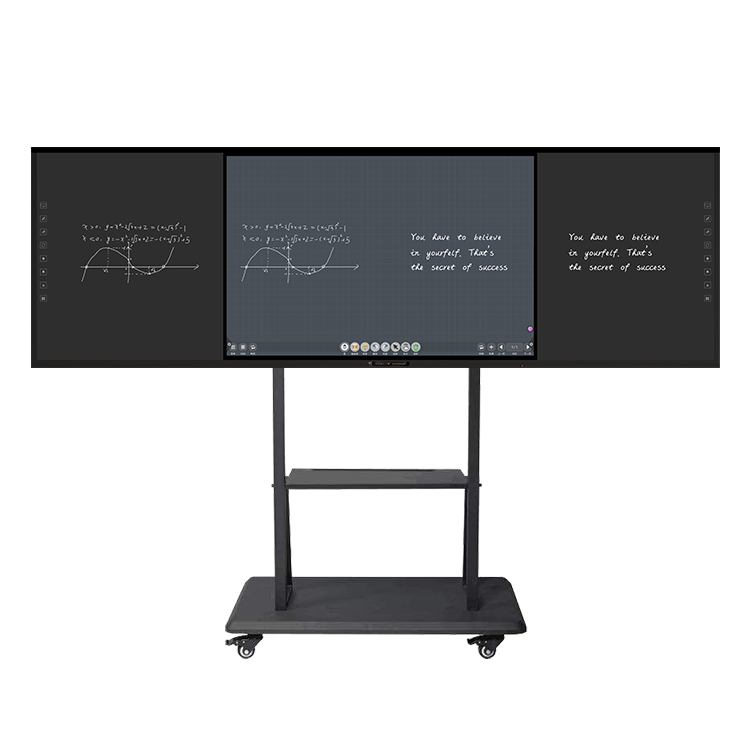 Smart 86 Inch Digital LED Interactive Display Interactive Blackboard With Multi Touch 20 Points For Kids Education - Yola WhiteBoard | szyola.net