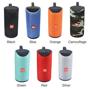 2019 TG113 fabric portable waterproof subwoofer wireless speaker