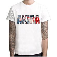 Модная мужская футболка Neo Tokyo Street Racing, Мужская Дизайнерская футболка Akira с коротким рукавом, вечерние винтажные мужские топы с японским аним...(Китай)