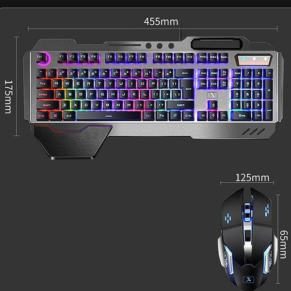 K680 Wrangler wireless rechargeable mechanical keyboard and mouse