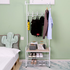 Coat With Stand Coat Rack With Shoe Stand Heavy Duty Metal Clothes Garment Entryway Bench Coat Rack With Shoe Stand