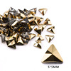 9# 5mm Triangle Gold