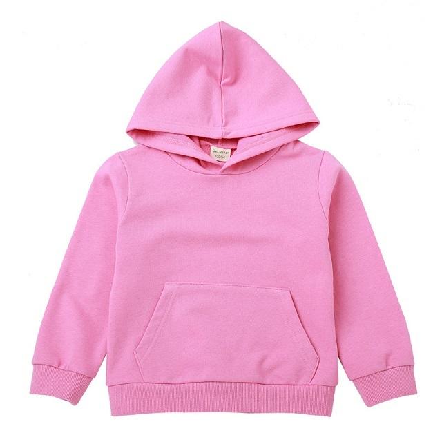 Модная Высококачественная уличная куртка унисекс детская однотонная Толстовка для малышей
