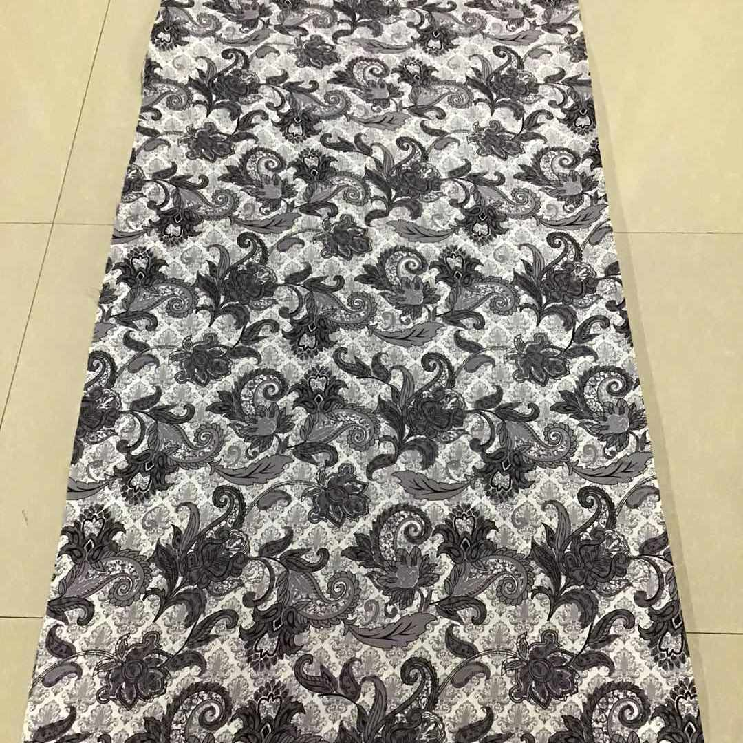 Cheap Price Printed Polyester Floral Mesh Fabric