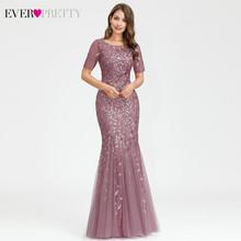 Элегантные кружевные платья для выпускного вечера, Длинные вечерние платья с блестками, Русалка, Саудовская Аравия, 2020(Китай)