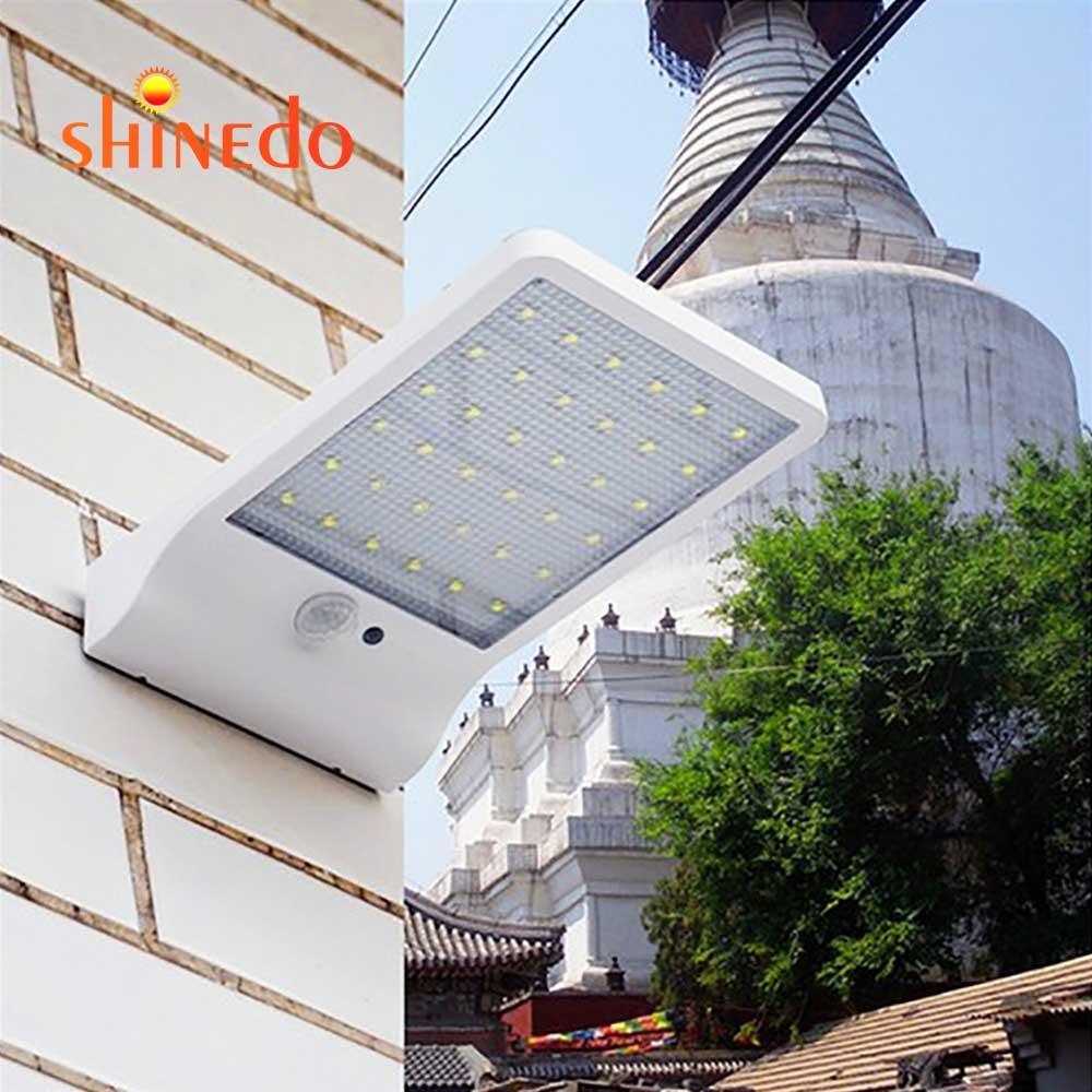LED Solar Street Light Waterproof Motion Sensor Outdoor Path Wall Lamp Garden Lighting  order