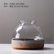 Креативный прозрачный подсвечник, керамический декор, подсвечник, подставка для свечей, маяк, Фотофон, украшение для дома, FC359(Китай)